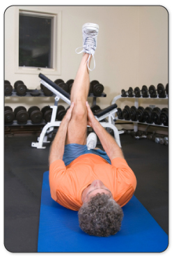 After your Achilles tendon is warmed up your physical therapist will guide you through stretches to improve mobility.