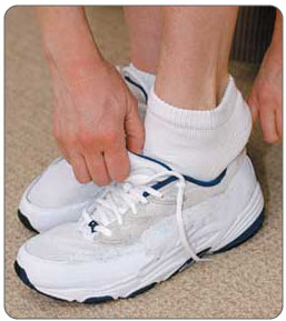 Tight or improperly fitted footware can add pressure to the Achilles tendon, subcutaneous calcaneal bursa, and retrocalcaneal bursa cause irritation which can lead to Achilles bursitis.