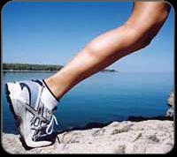 tennis leg healing therapies