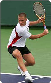People who play racquet sports are at risk of experiencing peroneal tendonitis