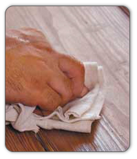 Repetitive moving, such as scrubbing or washing, can lead to a repetitive stress injury (RSI).